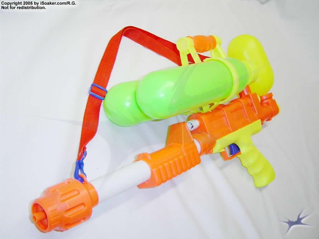 Super Soaker Water Guns With Backpack had gotten a Super Soaker