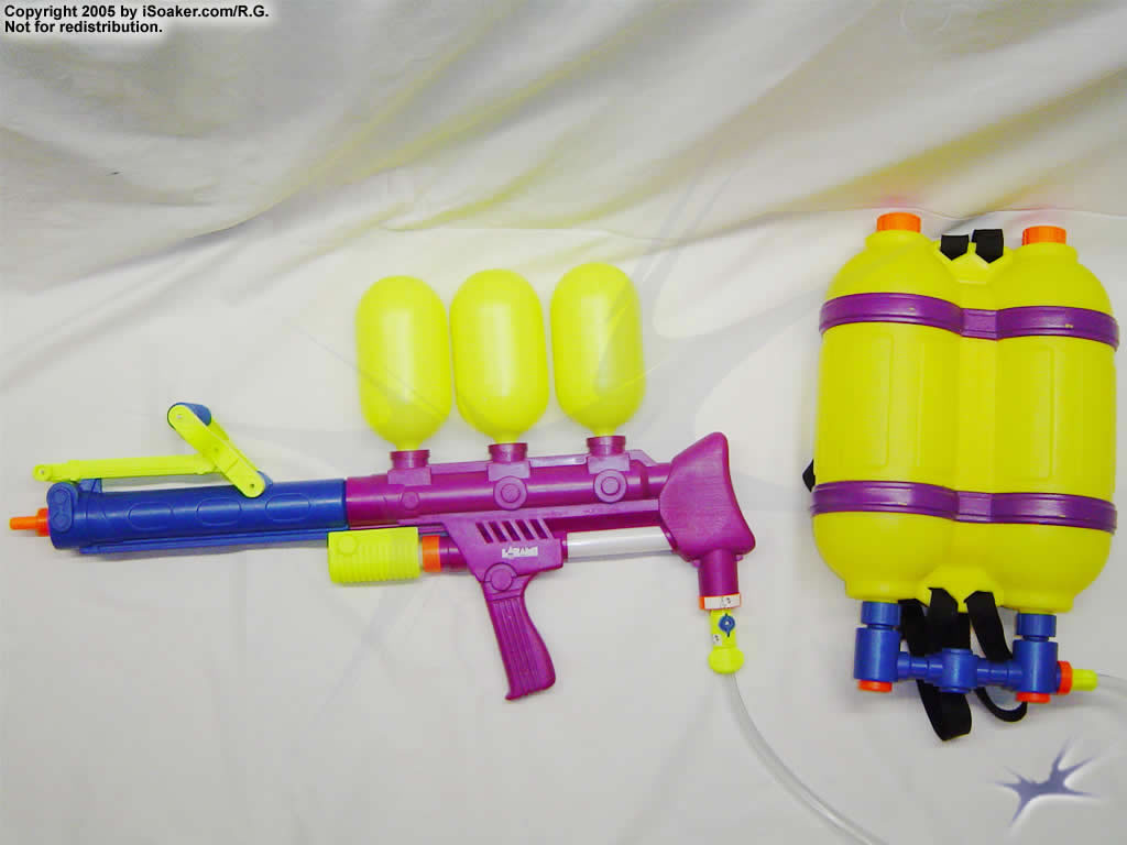 Super Soaker Water Guns With Backpack While the SS 300 s output and