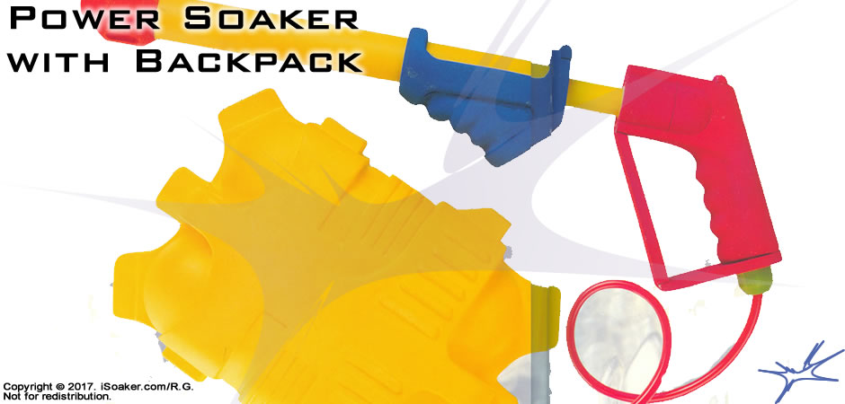 Power Soaker With Backpack Review Manufactured By Larami Corp 1993 Isoaker Com