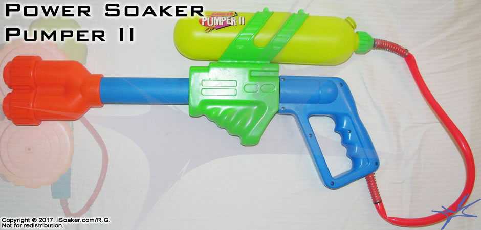 Power Soaker Pumper Ii Review Manufactured By Larami Ltd 1995 Isoaker Com