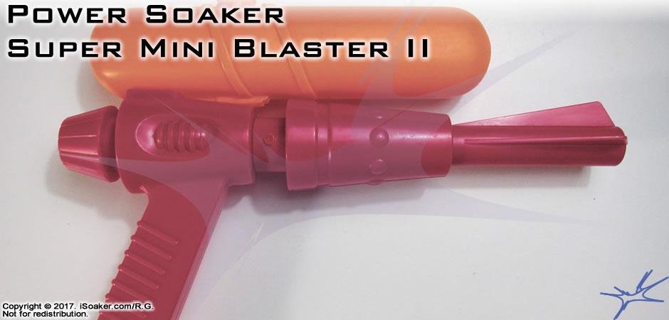 Power Soaker Super Mini Blaster Ii Review Manufactured By Larami Ltd 1997 Isoaker Com