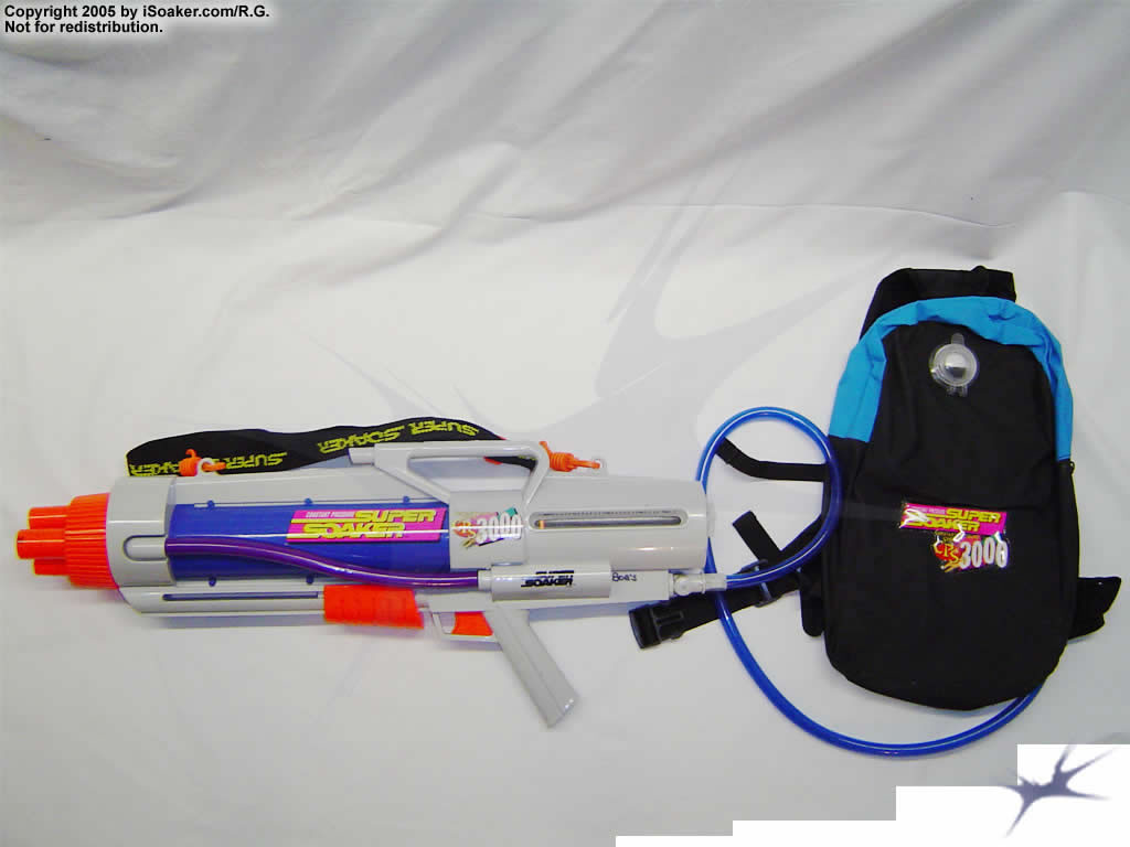 Super Soaker Water Guns With Backpack The Super Soaker CPS 3000 is