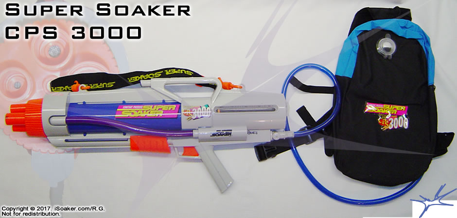 Super Soaker Cps 3000 Review Manufactured By Larami Ltd 1998