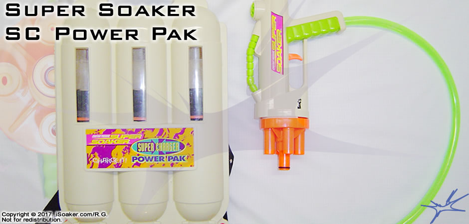 Super Soaker Super Charger Power Pak Review Manufactured By Larami Ltd 1999 Isoaker Com