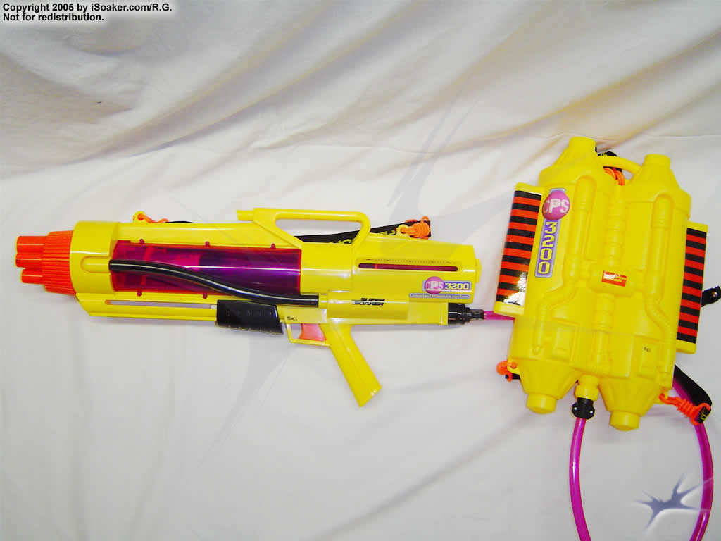 Super Soaker Water Guns With Backpack The backpack is comprised of a
