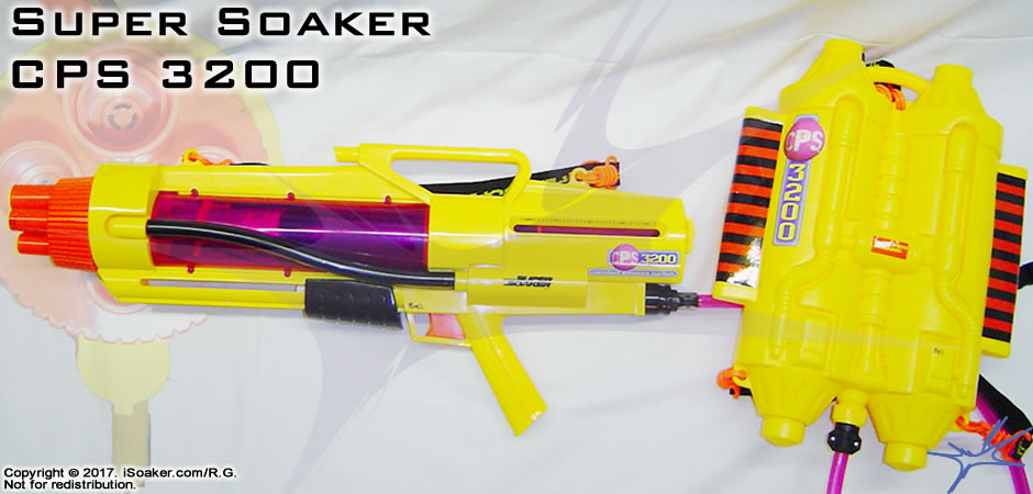 Super Soaker Cps 3200 Review Manufactured By Larami Ltd 2000