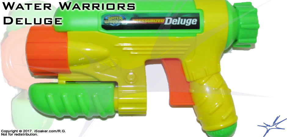 Water Warriors Deluge Review, Manufactured by: Buzz Bee Toys