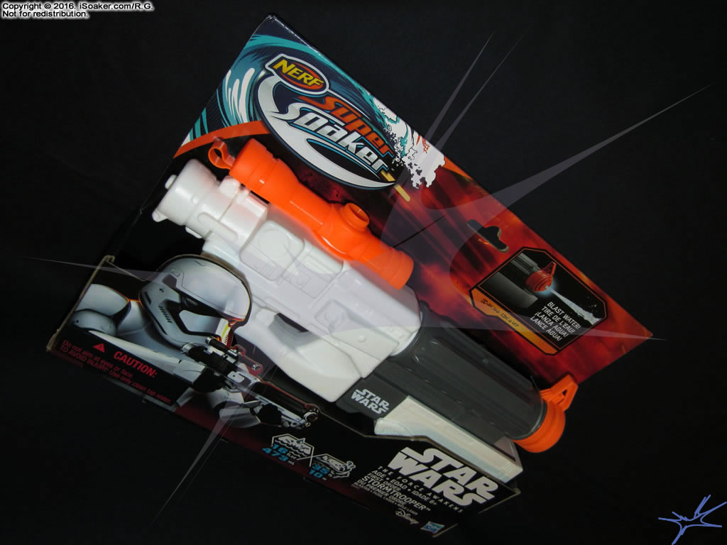 nerf super soaker star wars - the force awakers