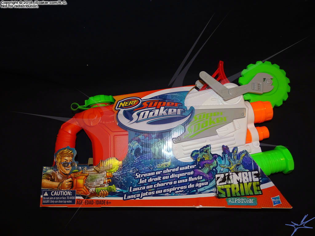 Nerf Super Soaker Zombie Strike Ripstorm Review